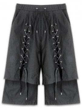 <strong>PARADOX TOKYO</strong>LAYERED PANTS<br>BLACK