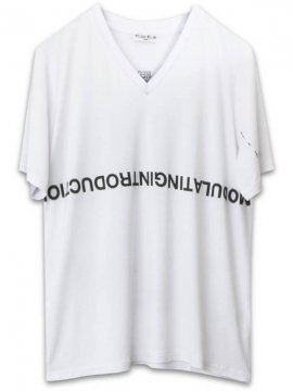<strong>NIL DUE / NIL UN TOKYO</strong>OVERSIZED V TEE<br>WHITE