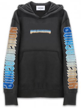 <strong>YOUTH MACHINE</strong>ZION SWEAT HOODIE<br>BLACK