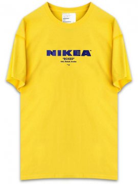 <strong>KUSTOM LONDON</strong>NIKEA Ver.1 T-SHIRT<br>YELLOW