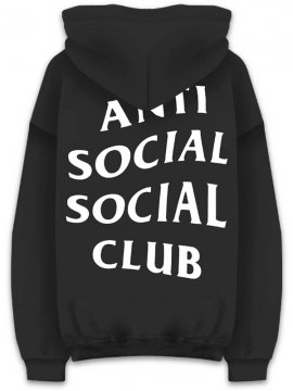 <strong>ANTI SOCIAL SOCIAL CLUB</strong>MIND GAMES SWEAT HOODIE<br>BLACK/WHITE