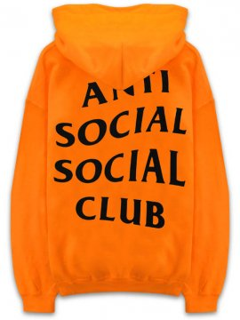 <strong>ANTI SOCIAL SOCIAL CLUB</strong>SHANGHAI SWEAT HOODIE<br>ORANGE
