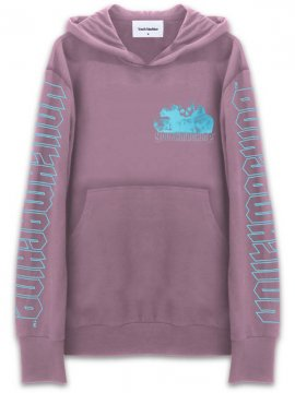 <strong>YOUTH MACHINE</strong>CRISIS SWEAT HOODIE<br>MAUVE