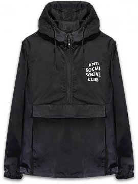 <strong>ANTI SOCIAL SOCIAL CLUB</strong>MAK BLACK ANORAK JACKET<br>BLACK