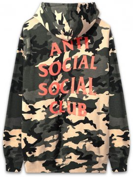 <strong>ANTI SOCIAL SOCIAL CLUB</strong>SIX ST. SWEAT HOODIE<br>WOODLAND