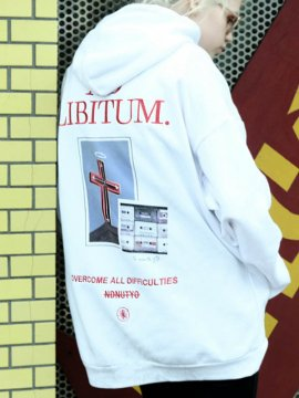 <strong>NIL DUE / NIL UN TOKYO</strong>BIG HOODIE SWEAT<br>WHITE