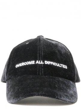 <strong>NIL DUE / NIL UN TOKYO</strong>VELOUR CAP<br>BLACK
