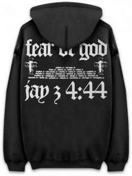 <strong>FEAR OF GOD JAY-Z</strong>FEAR OF GOD JAY-Z SWEAT HOODIE<br>BLACK