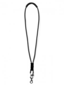 <strong>BLACK TRIANGLE DESIGN</strong>SHOCK CODE & leather neckholder<br>BLACK × WHITE NOISE