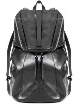 <strong>rewords/rewordsdesign</strong>LEATHER BACKPACK DR3<br>BLACK