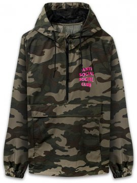 <strong>ANTI SOCIAL SOCIAL CLUB</strong>EZ ANORAK JACKET<br>DARK CAMO