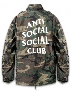 <strong>ANTI SOCIAL SOCIAL CLUB</strong>DEFENDER M65 JACKET<br>WOODLAND