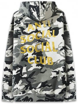 <strong>ANTI SOCIAL SOCIAL CLUB</strong>SIBERIA CAMO SWEAT HOODIE<br>CITY CAMO / GOLD