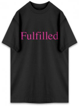 <strong>ANTI SOCIAL SOCIAL CLUB</strong>FULFILLED BLACK T-SHIRT<br>BLACK