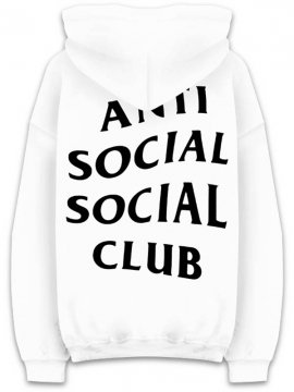 <strong>ANTI SOCIAL SOCIAL CLUB</strong>MASOCHISM SWEAT HOODIE<br>WHITE