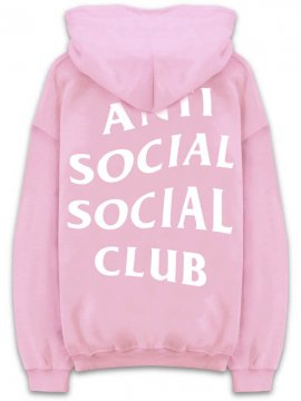 <strong>ANTI SOCIAL SOCIAL CLUB</strong>KNOW YOU BETTER SWEAT HOODIE<br>PINK