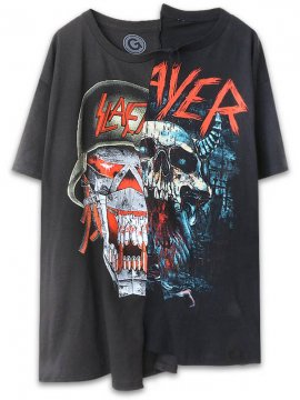 <strong>UNUSUAL</strong>WAR ENSEMBLE AND BLOODY RAIN T-SHIRT<br>BLACK