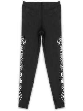 <strong>CVLT NATION</strong>BLACK MASS LEGGINGS<br>BLACK