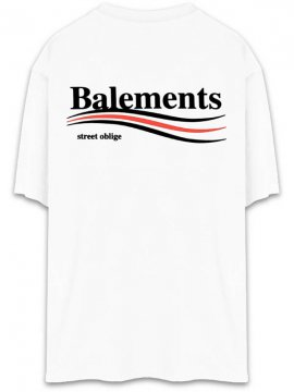 <strong>BALEMENTS</strong>BERNIE OVERSIZED T-SHIRT<br>WHITE