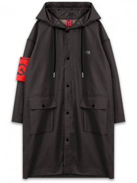 <strong>SOVETSKY1917</strong>TWO LAYER RAIN COAT<br>BLACK