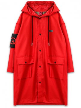 <strong>SOVETSKY1917</strong>TWO LAYER RAIN COAT<br>RED