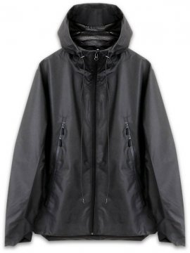 <strong>STEELBACK</strong>STORM JACKET with PRINT<br>BLACK