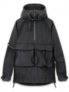 <strong>COR / CODERED</strong>3Z COR WINDBREAKER PULLOVER<br>BLACK