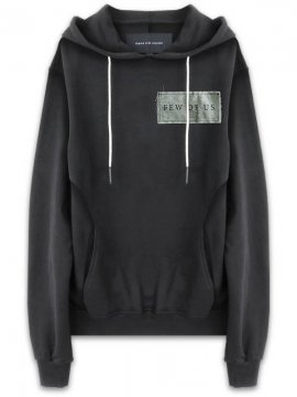 <strong>18FW TOBIAS BIRK NIELSEN</strong>H5_SAUL / BASE SWEAT HOOD W SERIGRAPHY<br>BLACK