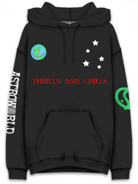 <strong>TRAVIS SCOTT ASTROWORLD MERCH.</strong>WORLD PEACE SWEAT HOODIE<br>BLACK