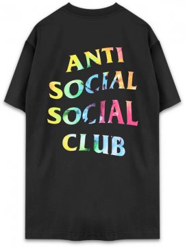 <strong>ANTI SOCIAL SOCIAL CLUB</strong>THAI DYE BLACK T-SHIRT<br>BLACK