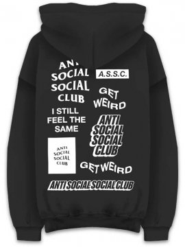<strong>ANTI SOCIAL SOCIAL CLUB</strong>BUKKAKE BLACK SWEAT HOODIE<br>BLACK
