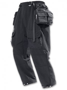<strong>PUPIL TRAVEL</strong>STORAGE DEVICE 9POINT TROOPER PANTS<br>BLACK