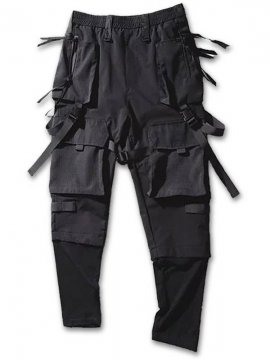 <strong>PUPIL TRAVEL</strong>NINJA TACTICAL PARATROOPERS PANTS<br>BLACK