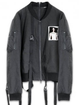 <strong>19SS KOMAKINO</strong>MA1 BOMBER JACKET<br>BLACK