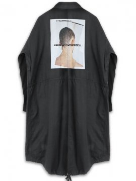 <strong>19SS KOMAKINO</strong>NOT PARKA COAT<br>BLACK