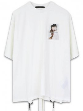<strong>19SS KOMAKINO</strong>BOX CUT JERZEY T-SHIRT CRUSHED 3M<br>OFF WHITE