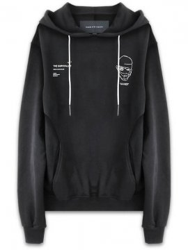 <strong>19SS TOBIAS BIRK NIELSEN</strong>H5.5_SUNLA / BASE SWEAT HOOD W SERIGRAPHY<br>BLACK