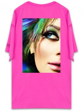 <strong>UNUSUAL</strong>BRILLIANT SURFACE T-SHIRT<br>NEON PINK