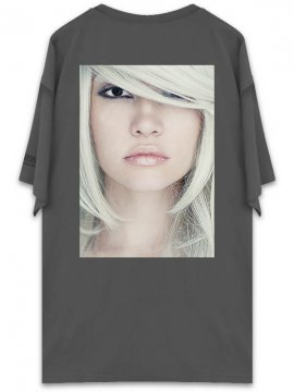 <strong>UNUSUAL</strong>BEING PROFOUNDLY THE SHADE BEAUTY T-SHIRT<br>PEPPER BLACK