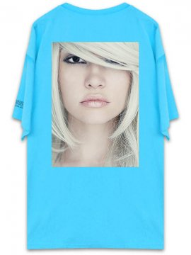 <strong>UNUSUAL</strong>BEING PROFOUNDLY THE SHADE BEAUTY T-SHIRT<br>RAGOON BLUE