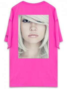 <strong>UNUSUAL</strong>BEING PROFOUNDLY THE SHADE BEAUTY T-SHIRT<br>NEON PINK