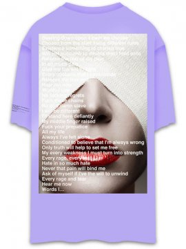 <strong>UNUSUAL</strong>IMPERIUM T-SHIRT<br>ORCHID