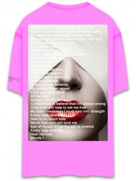 <strong>UNUSUAL</strong>IMPERIUM T-SHIRT<br>NEON PINK