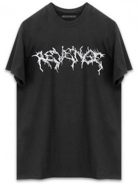 <strong>REVENGE GALLERY</strong>INFERNO BLACK T-SHIRT<br>BLACK