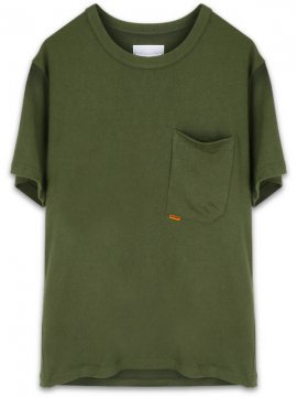 <strong>GOOPiMADE</strong>TYPE-W 3D POCKET EXPO® COTTON T-SHIRT<br>OLIVE
