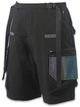 <strong>PUPIL TRAVEL</strong>SYMPHONY REFLECTIVE DETACHABLE FUNCTION SHORTS<br>BLACK
