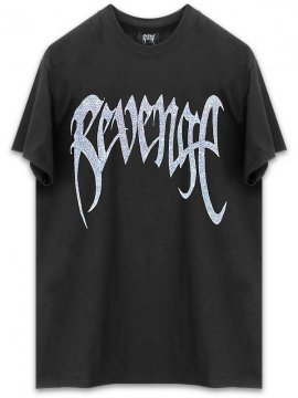 <strong>REVENGE GALLERY</strong>CHAIN BLACK T-SHIRT<br>BLACK