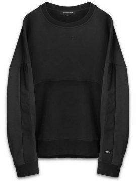 <strong>CONCEPTS D' ODEUR</strong>CONCEPTS STRIPE SWEAT / CONCEPTS EMBROIDERY<br>BLACK