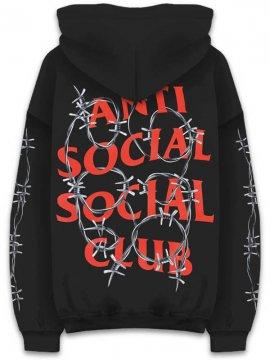 <strong>ANTI SOCIAL SOCIAL CLUB</strong>BARBARA BLACK SWEAT HOODIE<br>BLACK