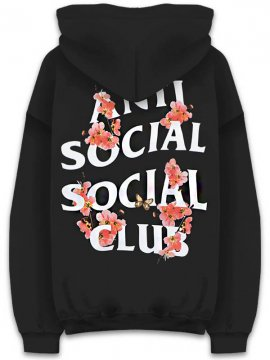 <strong>ANTI SOCIAL SOCIAL CLUB</strong>KKOCH BLACK SWEAT HOODIE<br>BLACK